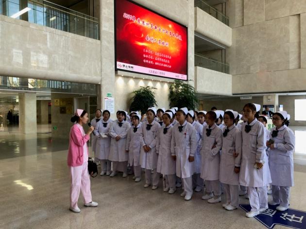老师与学生服务150p_医学与公共服务学院护理专业学生赴苏州科技城医院参观学习